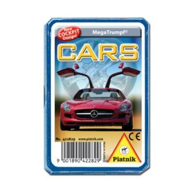 Piatnik Autók technikai gyermekkártya