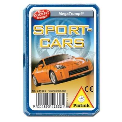 Piatnik Sport autók technikai gyermekkártya