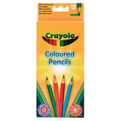 Crayola Hosszú puha színesceruza, 12 db-os