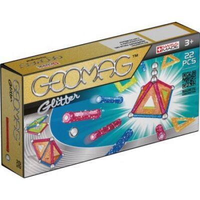 Geomag Panels csillogós 22 db-os készlet