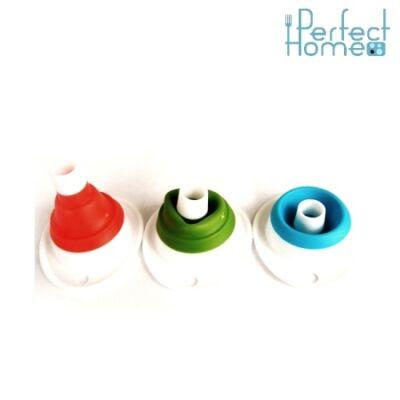 Perfect Home 10086 mini tölcsér (szilikon), zöld