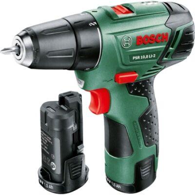 Bosch PSR 10,8 LI-2 - 1,5 Ah Akkumulátoros fúrócsavarozó