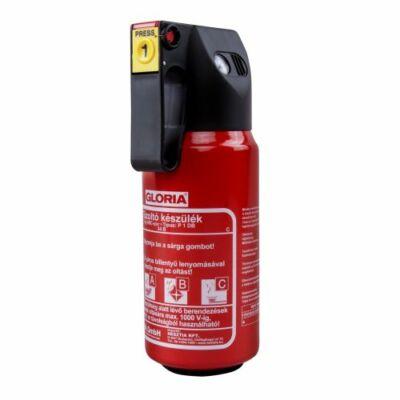 GLORIA P1DB 1 kg-os porral oltó tűzoltó készülék