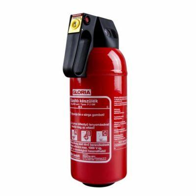 GLORIA P2GM 2 kg-os porral oltó tűzoltó készülék