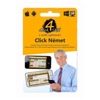 Click 4 Skill Német nyelvoktató szoftver