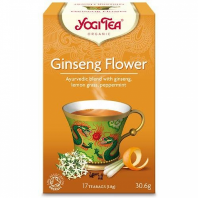 Yogi Tea® Ginsengvirág bio tea