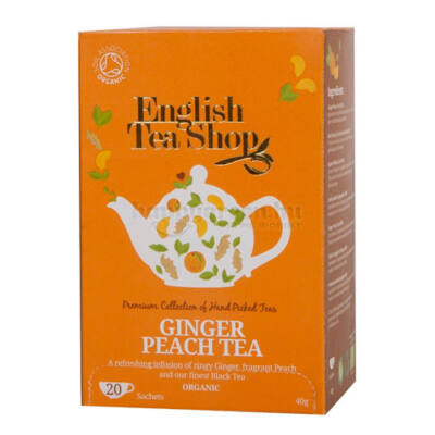 ETS English Tea Shop Bio Gyömbéres Baracktea 20 db