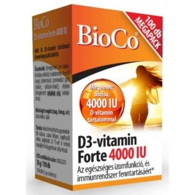 BioCo D3-vitamin Forte 4000 IU 100 db
