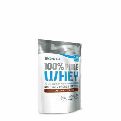 BioTech 100% Pure Whey tejsavófehérje csokoládé ízű, 454 g
