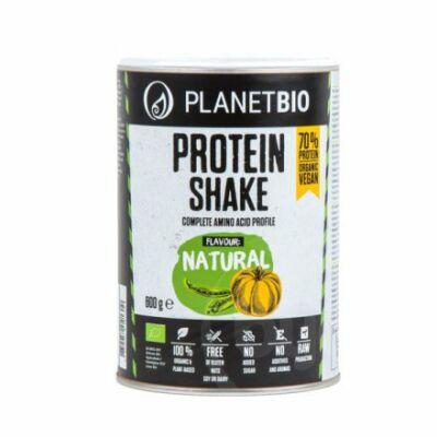 Planetbio Bio natúr fehérje shake, 600 g