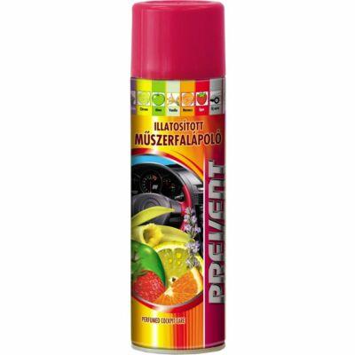 Műszerfalápoló spray eperillat 500ml