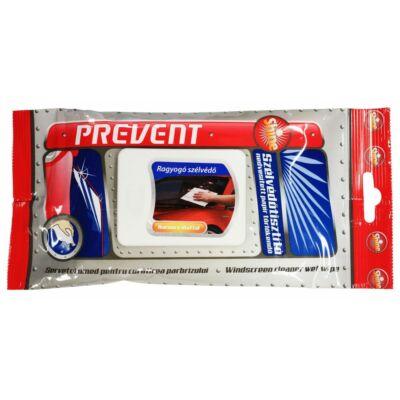 Prevent Törlőkendő szélvédőtisztító 20db-os