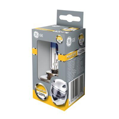 GE Megalight Ultra +120% H4 50440SNU motoros izzó, 1db/csomag