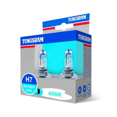 Tungsram Sportlight ultra H7 58520SBU autó izzó, 2db/csomag