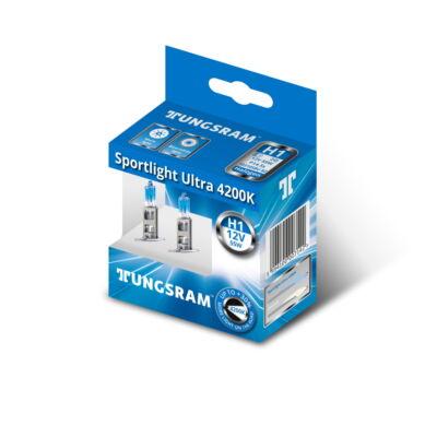 Tungsram Sportlight ultra H1 50310SBU autó izzó, 2db/csomag