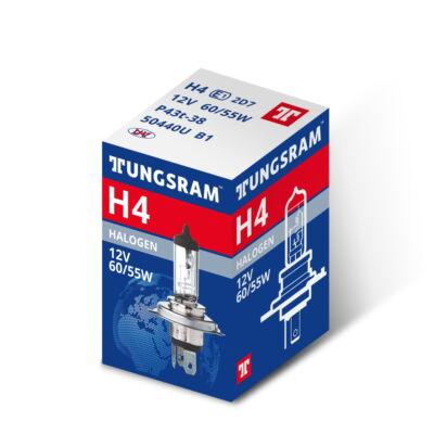 Tungsram Izzó 12V 60/55W H4 50440 P43t
