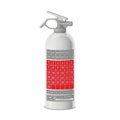 Design porral oltó ABC tűzoltó készülék - Kalandárium mintás, 1 kg