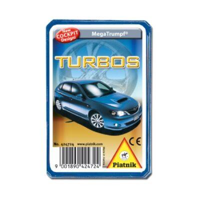 Piatnik Turbo autók technikai gyermekkártya