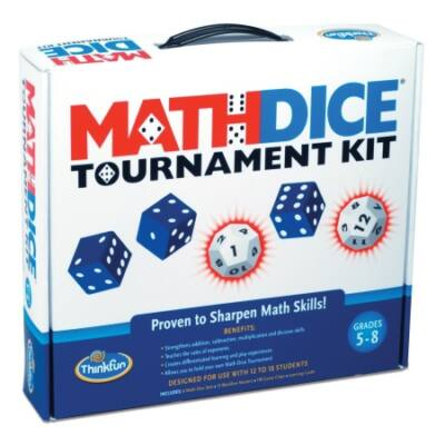 ThinkFun Math Dice Tournament kit