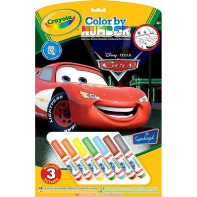 Crayola Festés számok után, 3 lapos (Verdák)
