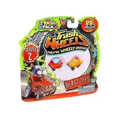 Trash Wheels Járgányok 2. évad - 2 db-os szett