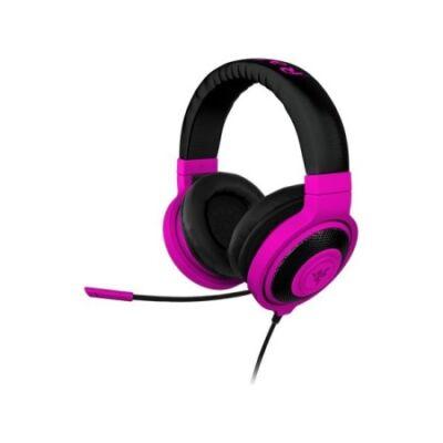 Razer Kraken Pro Neon lila fejhallgató