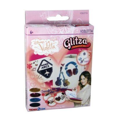Glitza csillámtetkó - Violetta kis szett