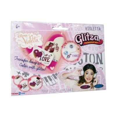 Glitza csillámtetkó - Violetta nagy csomag