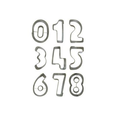 Perfect Home 28069 számok sütikiszúró szett 9 db-os