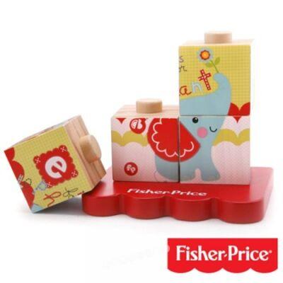 Fisher-Price Oroszlános fakockák