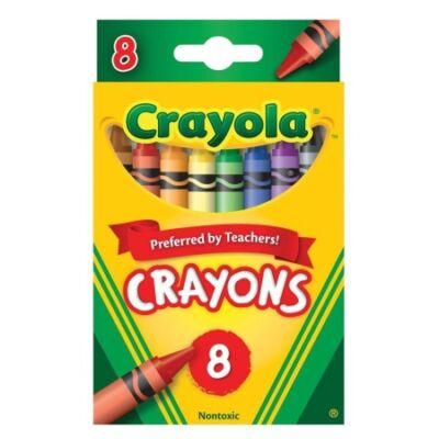 Crayola Zsírkréta készlet, 8 db-os