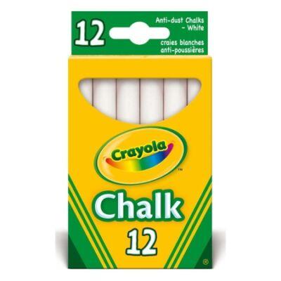Crayola Táblakréta fehér, 12 db-os