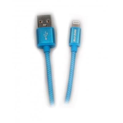Real Cable IPLUG USB-lightning kábel kék