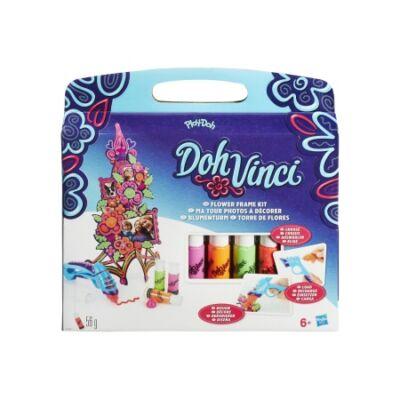 Play-Doh DohVinci Virágtorony készítő szett