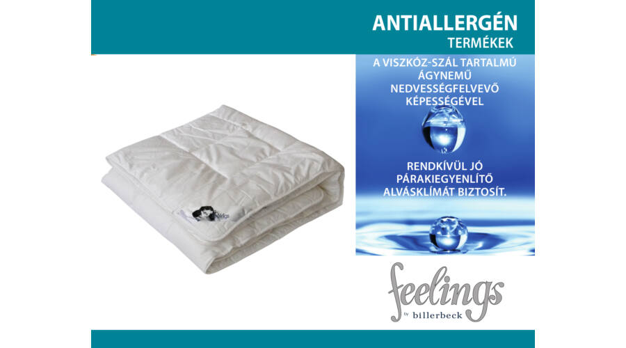 Feelings by Billerbeck Antiallergén paplan a8d69576d8